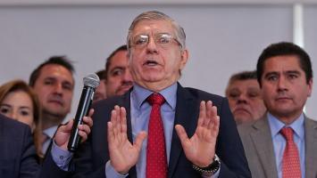 César Gaviria, presidente del Partido Liberal.