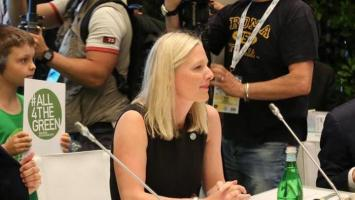 La ministra de Medio Ambiente de Canadá, Catherine McKenna.