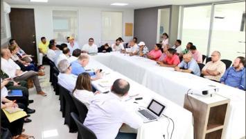 Reunión entre autoridades de Córdoba y la ANI.
