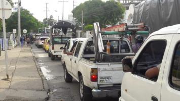 Trancones en Santa Lucía