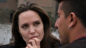 Angelina Jolie y los migrantes venezolanos en Perú