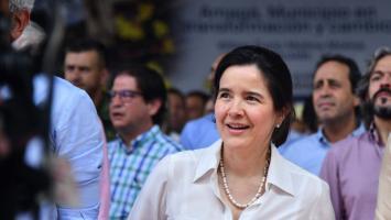 Sylvia Constaín, ministra TIC de Colombia