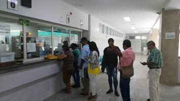 Usuarios del Hospital Universitario del Caribe HUC reciben atención