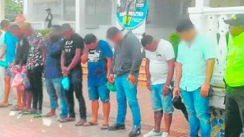 Caen 20 presuntos miembros del Clan del Golfo en Cartagena.