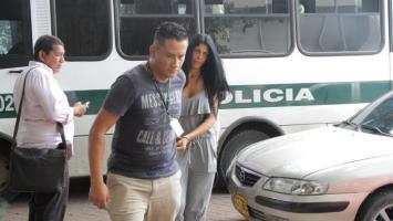Liliana del Carmen Campos, alias la Madame, entrado a audiencia en el Complejo Judicial.