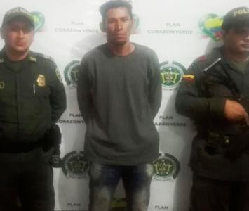 Alexander Ospino Castro, capturado porque habría matado a su hijastra de cuatro meses. La niña era cartagenera.