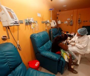 Sala de Quimioterapias de la Fundación Hospital Infantil Napoleón Franco Pareja