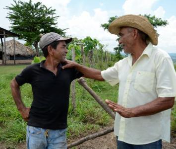 Campesinos bolivarenses.