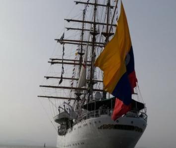 Embarcación de vela. Sail Cartagena 2018.