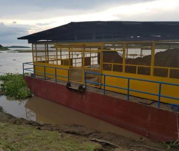 Barcaza de captación