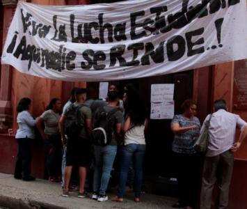 Estudiantes de la Universidad de Cartagena, en paro