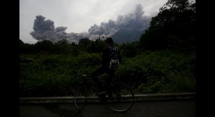 Desastre en Guatemala por erupción del volcán de Fuego.