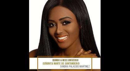 Señorita Norte de Santander - Sandra Patricia Palacios Martínez