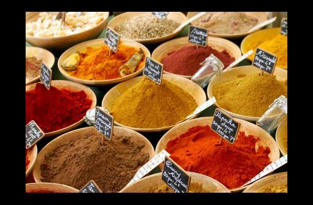 colorantes, saborizantes, comino, pimienta, color, perjuicios, condimento natura