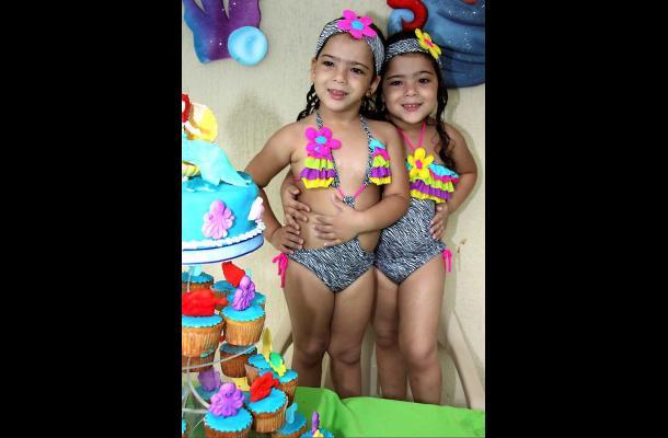 Cumpleaños de María Camila y María Paula Garcés