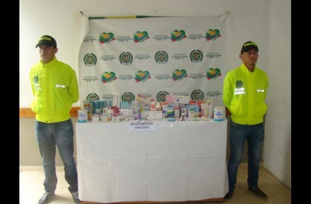 Policía medicamentos  el carmen de bolivar