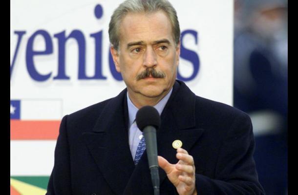 Andrés Pastrana, expresidente de Colombia.