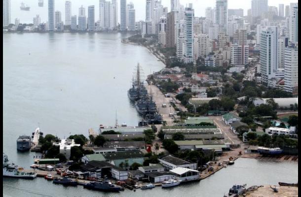 Traslado de la Base Naval en Cartagena