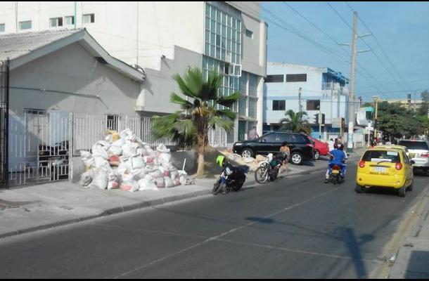 Comparendo ambiental en Cartagena