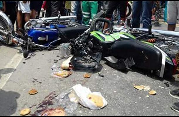 Accidente de tránsito en El Carmen de Bolívar