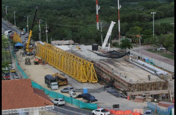 Obras del Viaducto