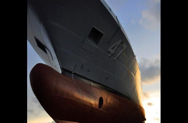 """Hoy se llevará a cabo el bautizo del ARC """"7 de Agosto"""" en las instalaciones de la Corporación Tecnológica de Ciencia y Tecnología para el Desarrollo de la Industria Naval, Cotecmar, de Cartagena."""