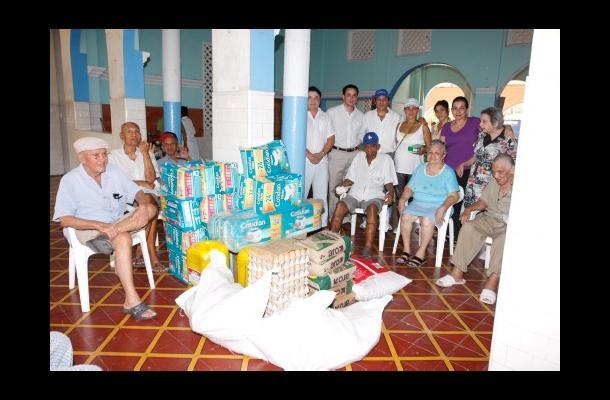 Donacion Asilo San Pedro