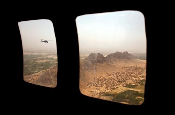 Para la operación contra Osama Bin Laden se usaron helicópteros Blackhawk.