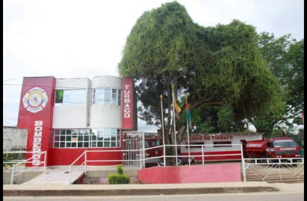 Sede del Cuerpo de Bomberos Voluntarios de Turbaco.