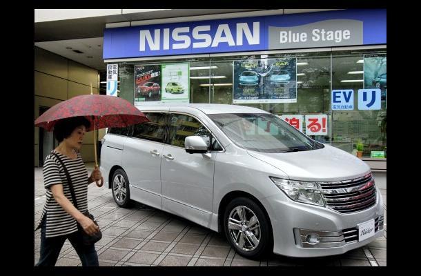 Caen ventas de carros en Japón después del sismo y tsunami.