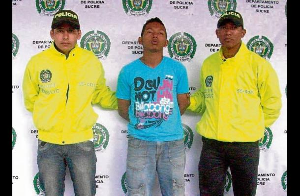 Álvaro Javier Padilla Jiménez, atrapado por el delito de hurto.