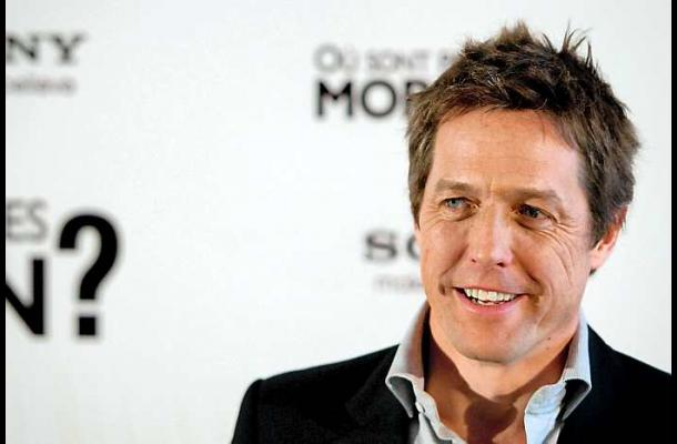 El actor Hugh Grant es padre.