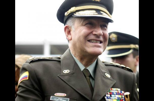 Óscar Naranjo, director de la Policía Nacional.