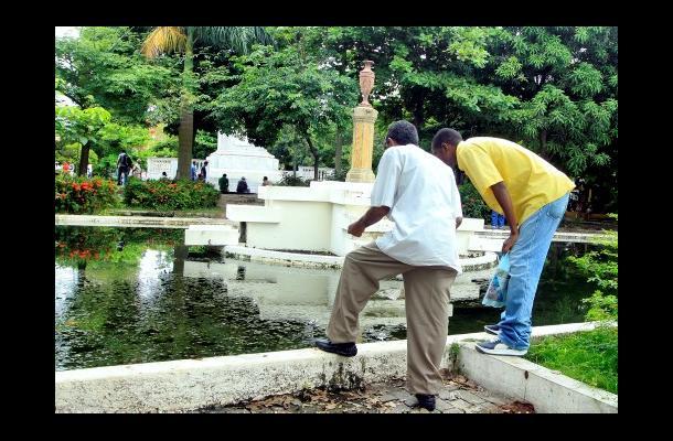 Empiezan obras de recuperación del Parque de Centenario de Cartagena