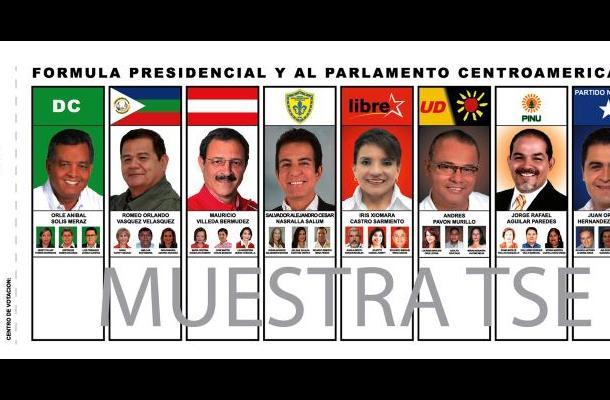 Elecciones presidenciales de Honduras