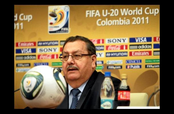 Rafael Salguero, presidente de la comisión organizadora de la FIFA.