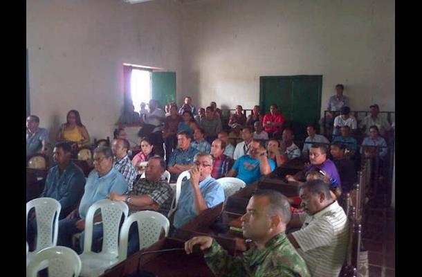Reunión de alcaldes para tratar tema del peaje de Turbaco