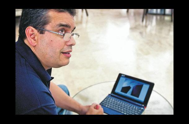 William Rodríguez, en su paso por Cartagena