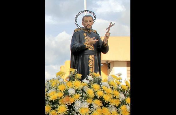 El homenaje fue para San Pedro Claver, patrono de los Derechos Humanos.