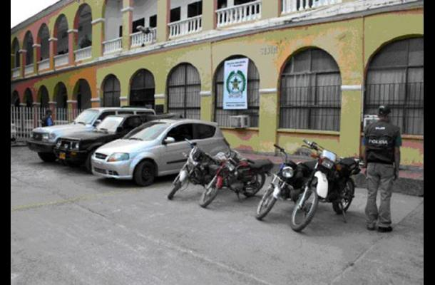 Agentes de la Sijín de Córdoba vinculados con bacrim