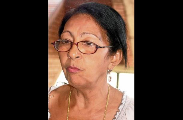 Dolores Barrios, miembro de la Red Departamental de Mujeres.