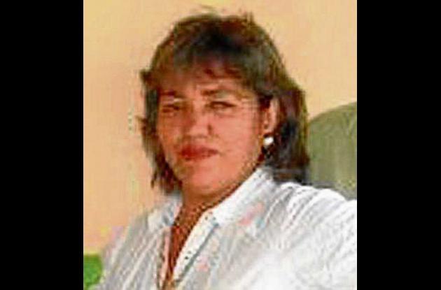 Carmen López Hoyos, Personera de Pueblo Nuevo.