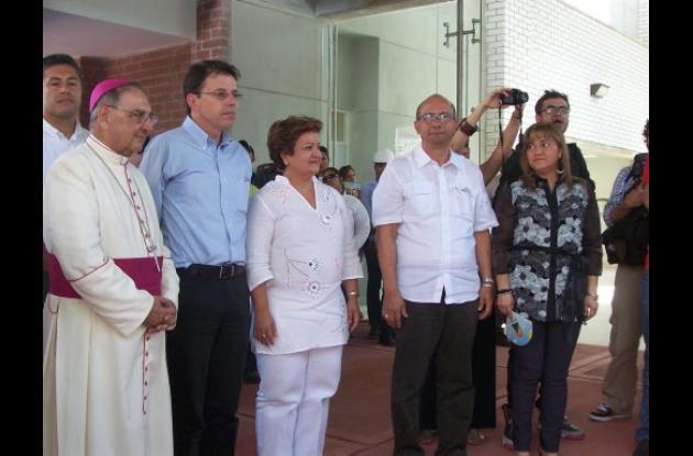 acto inaugural del Hospital de Montelíbano.