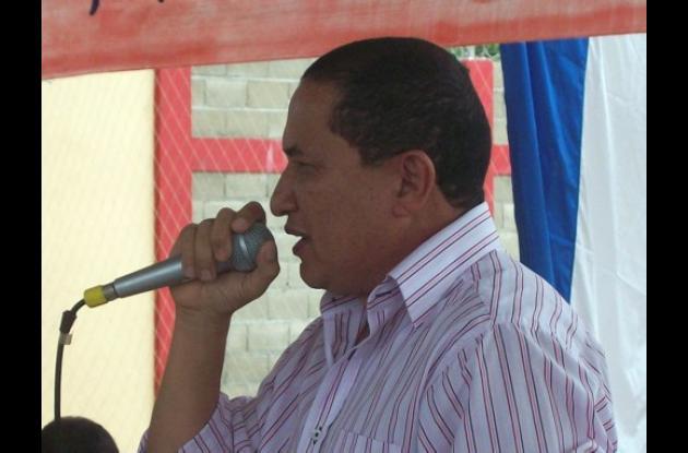 Álvaro Sánchez Navarro; alcalde de Pueblo Nuevo.
