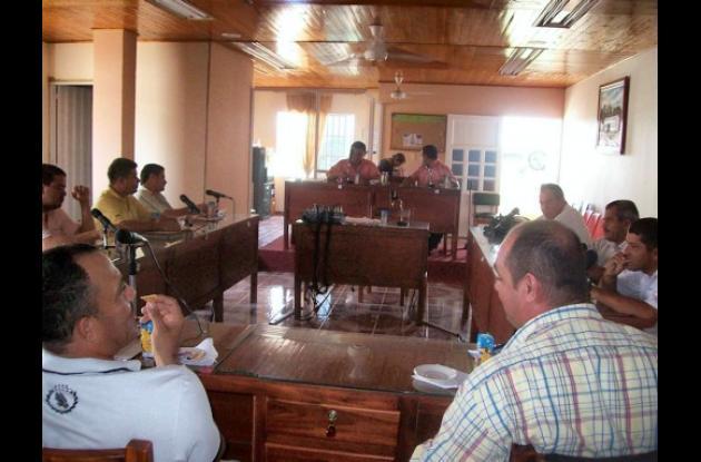 Los concejales de Buenavista en sesiones extras