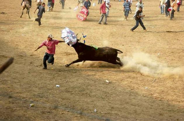 Planeta Rica vive sus tradicionales fiestas de corraleja