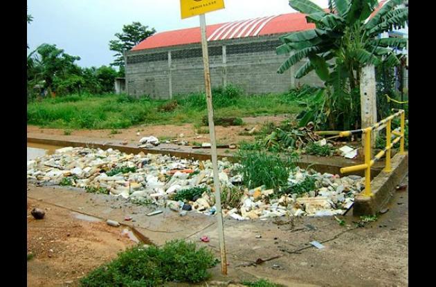 Lío por manejo de las basuras en Montelíbano
