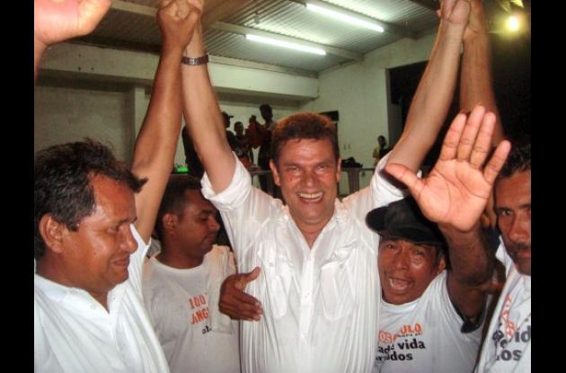 Carlos Angulo Salóm, candidato por el Partido de la U