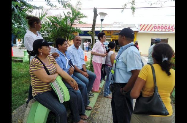 Los trabajadores estuvieron varios días en las afueras de la sede de Gobierno