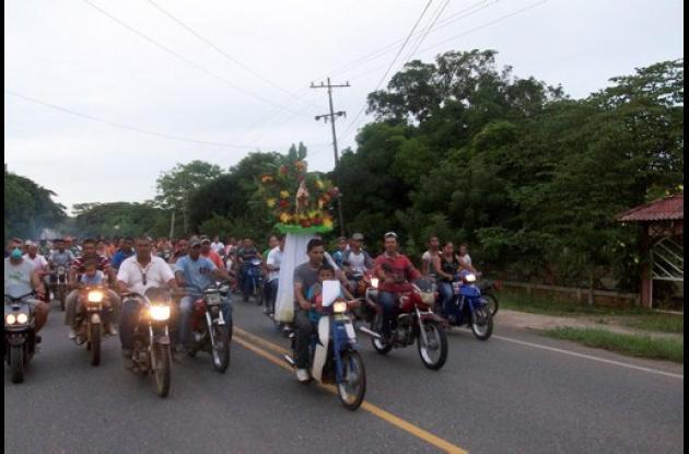caravanas en Honor a la Virgen del Carmen